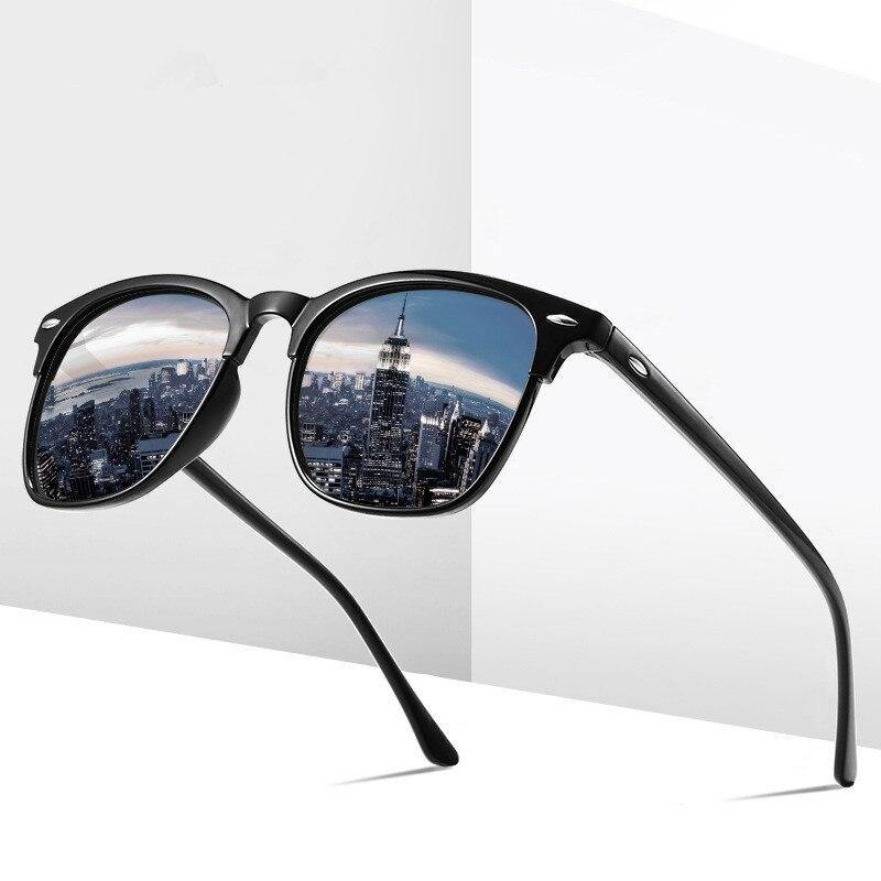 Sports Men's Sunglasses Polarizer Amazingly Colored Sunglasses For Outdoor Driving Framed Sunglasses Oculos De Sol Masculino