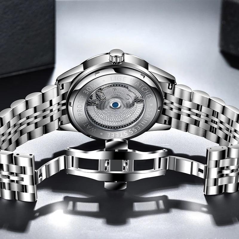 Top Luxury Automatic  Men's Clock  Wristwatch. 3