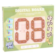 1 Set Kids Number Puzzle Toy Arithmetic Learning Board Educational Plaything Mathematics Teacher Calculator