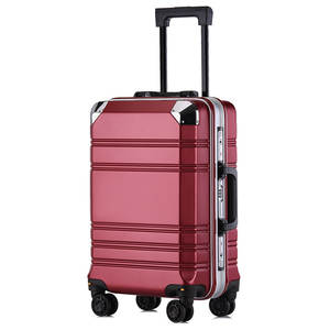 Luggage-Case Check-In-Box Carry-Ons Business Aluminum-Framed Women Spinner New And PC
