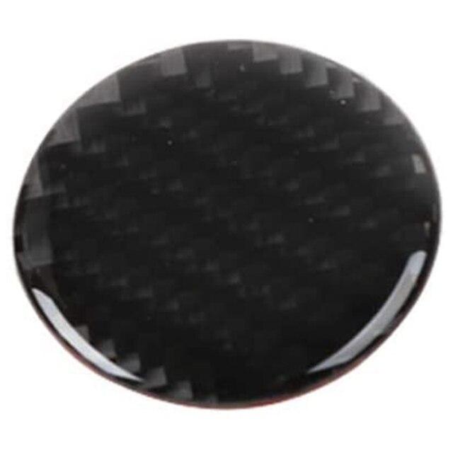 Para Jeep Grand Cherokee 2014 -2019 cubierta Interior de fibra de carbono Control Central 4WD interruptor perilla cubierta pegatina embellecedor