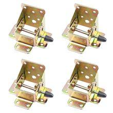 4Pcs/set Iron Locking Folding…