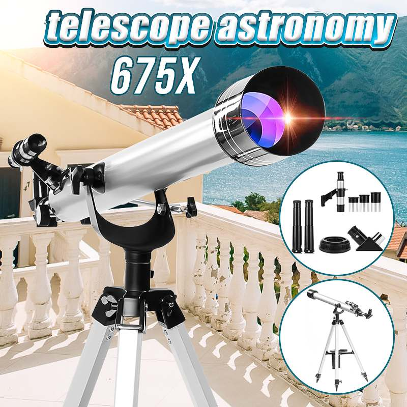 SGODDE 675x Astronomical Refractive Zooming Telescope Sky Monocular For Space Celestial Observation Monocular/Binoculars