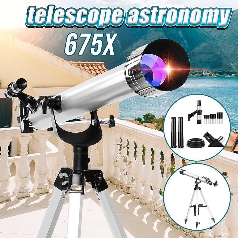 SGODDE 675x Astronomical Refractive Zooming Telescope Sky Monocular For Space Celestial Observation Monocular/Binoculars