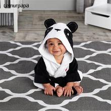 Мультяшное детское полотенце в виде панды банное фланелевый