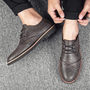 Image 2 - Brand Men Oxfords Shoes British Style Men Genuine Leather Business Formal Shoes Dress Shoes Men Flats Top Quality Loafers