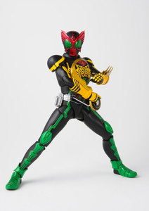 "Image 3 - 100% Original BANDAI Tamashii Nations SPIRITS S. h. figuarts (SHF) Action Figure Masked Rider OOO TaToBa Combinação de ""Kamen Rider OOO"""