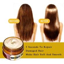 60ml masque de traitement capillaire à la kératine magique 5 secondes répare les dommages tous les Types de cheveux traitement des cheveux et du cuir chevelu à la kératine eau de verrouillage TSLM1