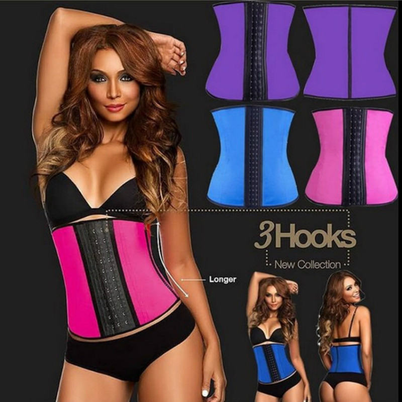 Women Slimming  Belts Modeling Waist Trainer Latex Waist Cincher Corset High Compression Shapewears Lady Underbust Body Shaper