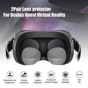 Lens-Protector Vr-Oculus Clear-Film TPU Soft HD for Quest/rift 2-Pair