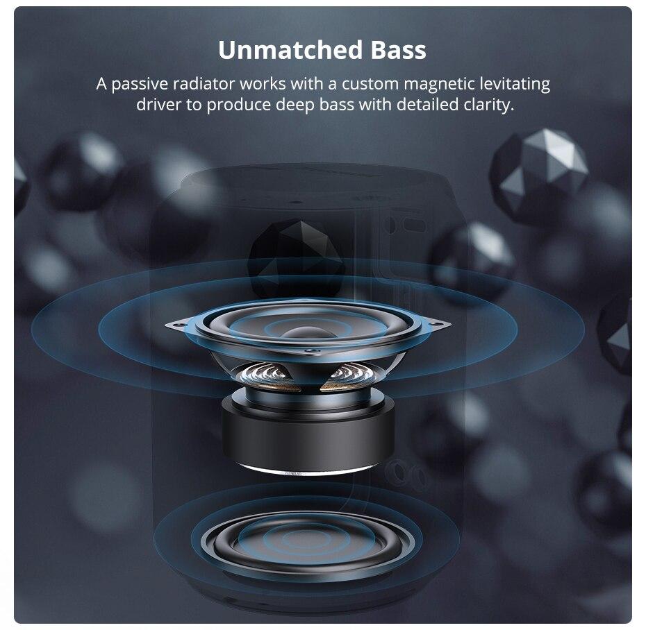 Tronsmart T6 Mini TWS Bluetooth 5.0 Speaker IPX6 Waterproof Wireless Speaker 24 Hours Play Time Outdoor Portable Speaker 15W (6)