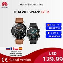 Huawei-Reloj inteligente 2 GT2, dispositivo con Bluetooth, pantalla de 46 mm, monitor de frecuencia cardíaca y de oxígeno en sangre, con GPS y llamadas telefónicas, para Android e iOS, original, ya disponible