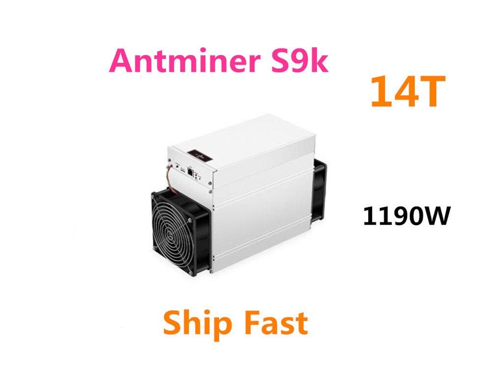 Nouveau AntMiner S9k 14TH/S Bitcoin BCH BTC Miner mieux que S9 13.5t 14t S9j 14.5t S9 SE S11 S15 S17 T9 + T15 T17 what sminer M3