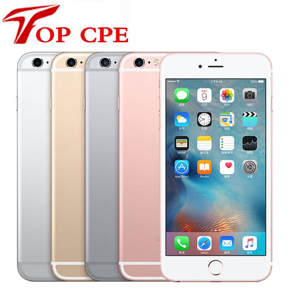Оригинальный Смартфон Apple iPhone 6S plus 6SP, 5,5 дюйма, 2 Гб ОЗУ, 12 МП, двухъядерный процессор A9, 4G, LTE, Wi-Fi, GPS, 6S Plus, разблокированный мобильный сотовый те...
