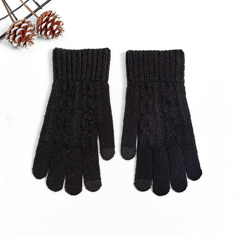 Winter Warm Man Touch Screen Elastic Soft Gloves