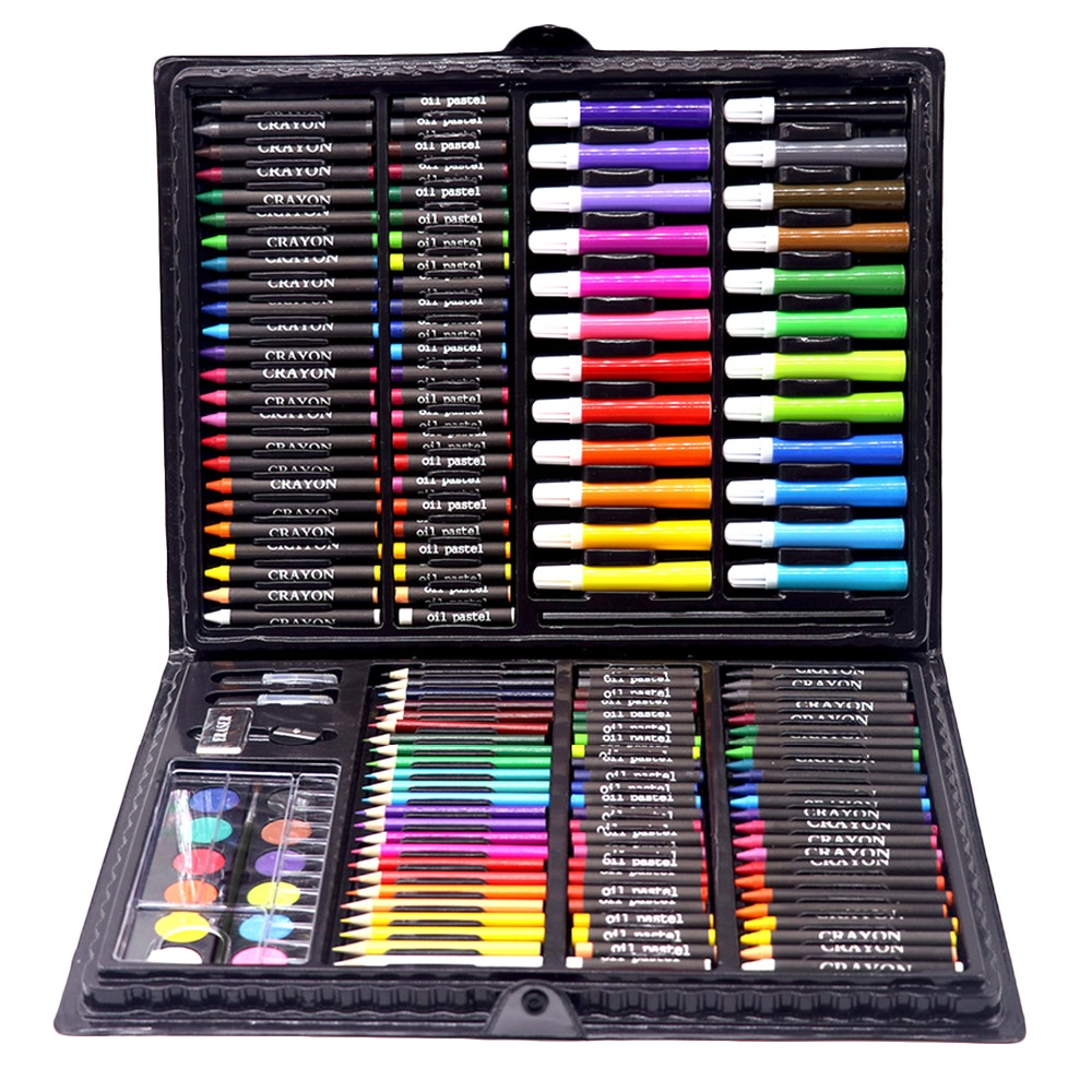 168PCS Painting Drawing Art Artist Set Kit For Kids Children Boys Girls Student Christmas Birthday Holiday Birthday Gift