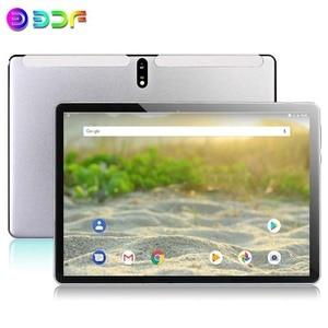 Новые 10,1-дюймовые планшеты 2 ГБ/32 Гб ROM Android 9,0 4G Телефонный звонок Восьмиядерный Bluetooth Wi-Fi 2.5D стальной экран планшетный ПК + клавиатура