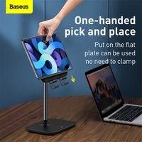 Baseus Tablet Desk Stand Black Desktop Phone Holder For Tablet Pad Desktop Holder Stand For iPad Air Mini For Study Convenient