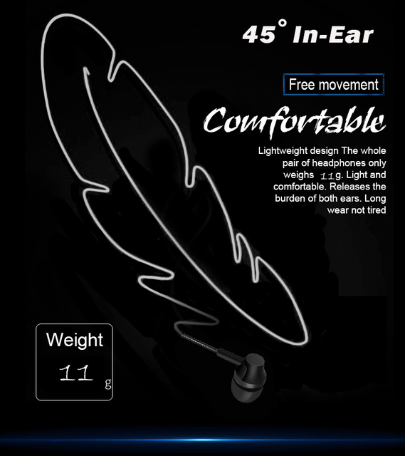 PunnkFunnk Wired Earphones Sport headset 1.2M  In ear  Deep Bass Stereo Earbuds W/Mic For iphone samsung huawei xiaomi vivo oppo 3
