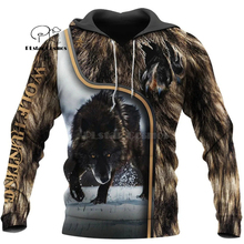 Wolf Printed Hoodies Men 3d Hoodies Brand Sweatshirts Jackets Quality Pullover Fashion Tracksuits Animal Streetwear Out Coat-7 hampson lanqe animal wolf printed men hoodies sweatshirts 2019 warm fleece coat brand punk hoodie harajuku men s jackets cm01