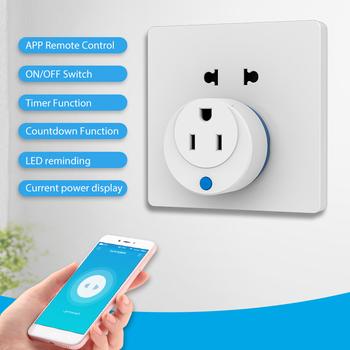 Smart Home 13A z-wave US inteligentne gniazdo 110-230V AC inteligentna wtyczka 110-230V AC poza wewnętrznym systemem automatyki domowej tanie i dobre opinie Aleekit NONE CN (pochodzenie) Prawie gotowy inne Support