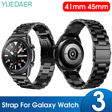 Strap For samsung Galaxy Watch 3 41mm smart watch Stainless Steel metal Bracelet For Galaxy Watch3 45mm Accessories Wrist Straps