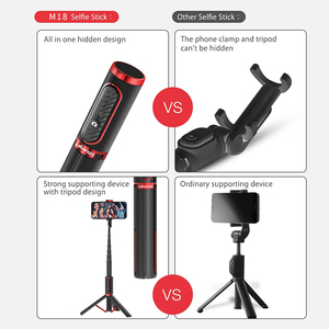 Image 2 - 自撮り棒 ワイヤレス垂直撮影 Bluetooth Selfie スティック三脚ミニポータブル 15 キロ Playload スマートフォン Selfie アンドロイド iphone IOS