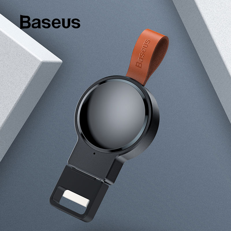 Baseus Portable Wireless Charger For Apple Watch Series 4/3/2/1 Magnetic Wireless Charging For Apple Watch Fast USB Charger