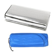 Double Sided Foldable Waterproof Aluminum Foil Mat Portable Outdoor Travel Beach Mat Sleeping Mattress for Camping Hiking NEW trackman double camping mat automatic inflatable mattress with pillow large size sleeping pad beach hiking travel mats