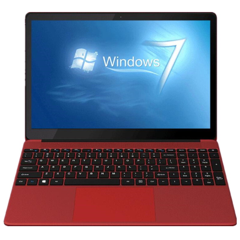 2019 New Red 4GB RAM-750GB HDD Intel Pentium N3520 Cpu Laptop 15.6inch FHD Windows 7 Notebook PC Computer 4000mAh Battery