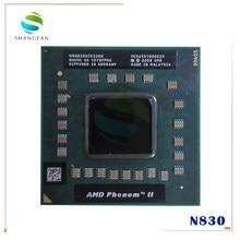 Amd phenom n830 cpu hmn830dcr32gm soquete s1 (s1g4) processador de 2.1g para notebook portátil núcleo triplo
