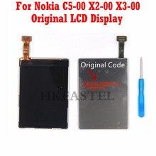 HKFASTEL Brand Original LCD For Nokia X2 X2-00 X3 X3-00 C5 C5-00 Mobile