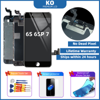 KO Top Quality Mobile Phone LCD Screen for iphone 7plus 8plus LCD Display LCD for iphone 6s 6s+ LCD Replacement In The Market
