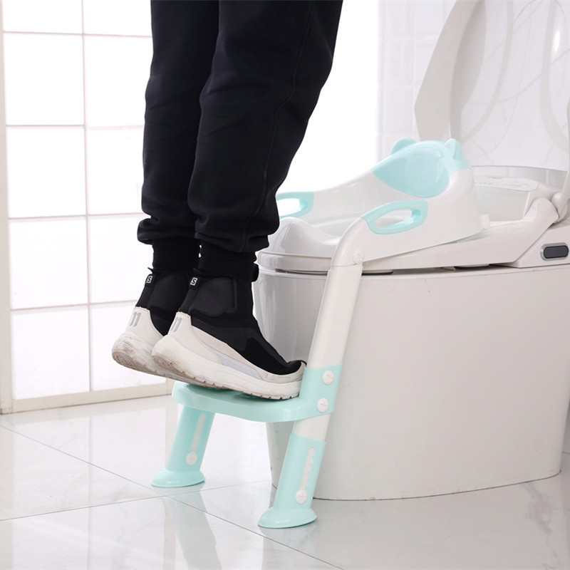 Baby Chamber Pot Ladder Foldable Toilet Ladder Infant Kids Potty Ladder Toilet For Kids Kids Ladder Pedestal Pan