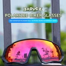 Kapvoe polarizado colorido das mulheres dos homens da bicicleta de estrada óculos de sol equitação correndo óculos oculos ciclismo mtb gafas
