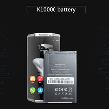 Replacement Cell Phone Batteries For OUKITEL K10000 MTK6735P Li-Polymer Battery High Capacity 10000mAh(China)