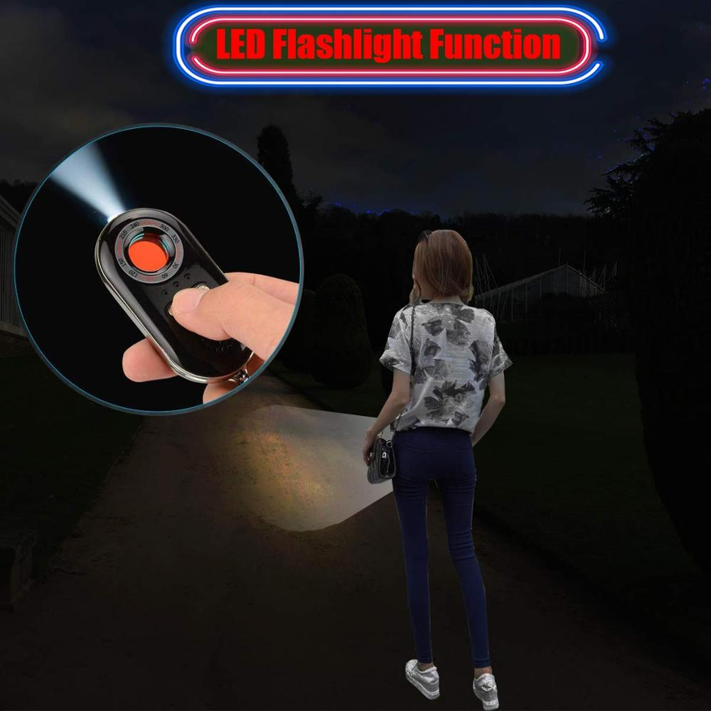 Беспроводной антишпионский радиочастотный сигнал, лазерная камера, детектор, искатель кражи, личная охранная сигнализация, датчик вибраци...