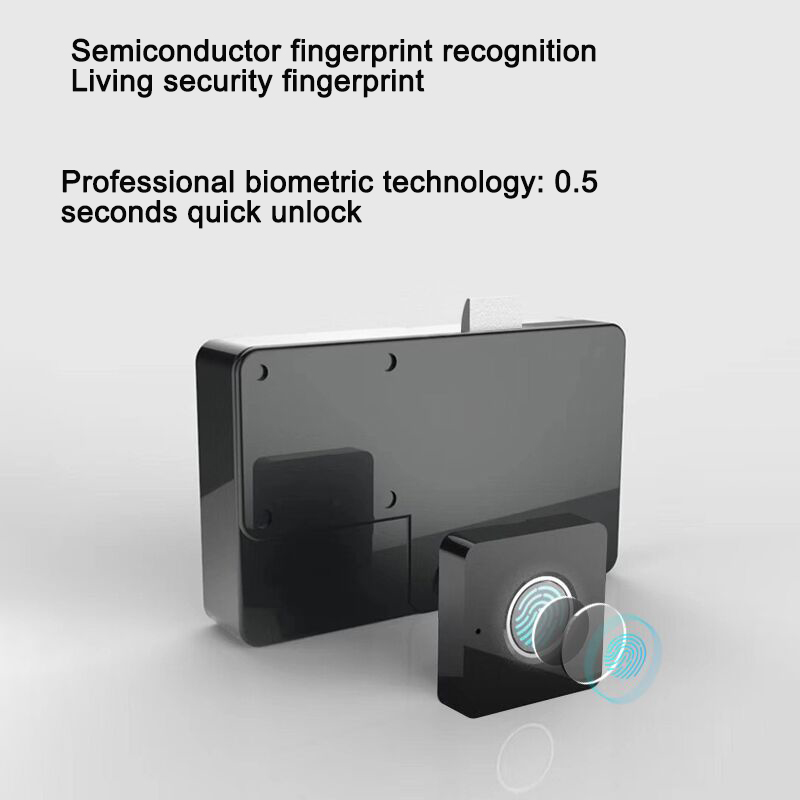 Smart Fingerprint Lock Keyless Desk Lock File Smart Induction Drawer Lock Reliable Secure Private Document Electronic Lock