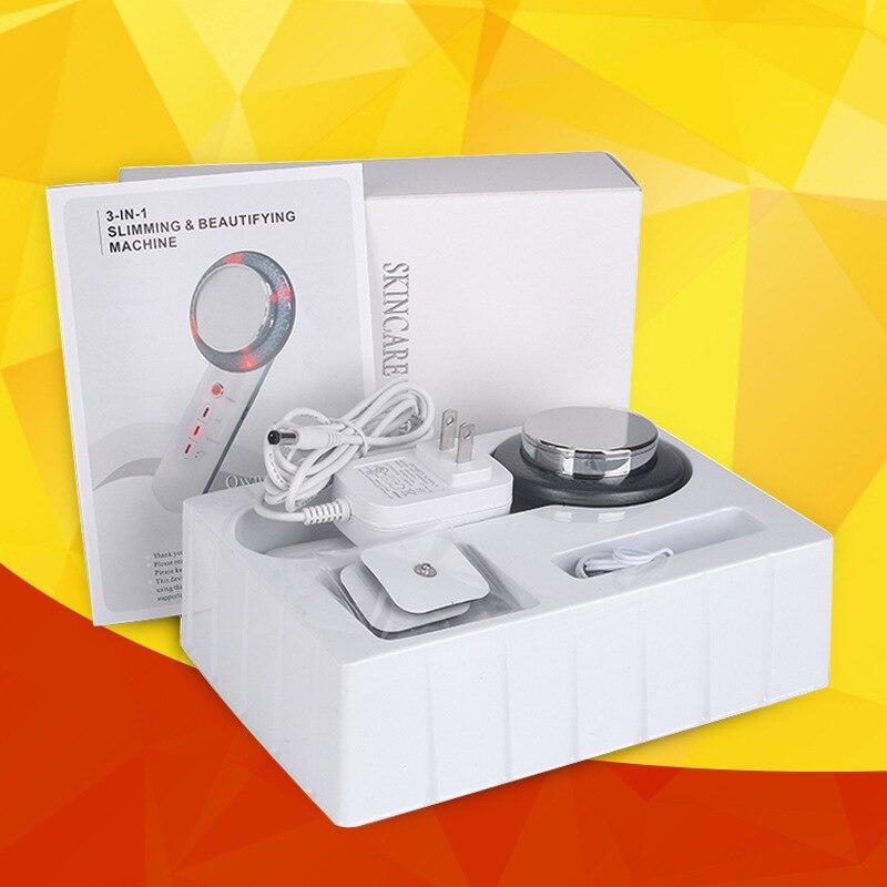 Gesicht Heben 3in1 EMS Infrarot Ultraschall Körper Massager Gerät Ultraschall Abnehmen produkt Fett Brenner Kavitation Schönheit Maschine