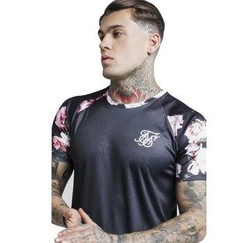 Mens Sik Silk Men T-Shirt Casual Male TShirts Summer Siksilk Man Tshirt Streetwear Brand Clothing Tee Tops Silk Silk T Shirt Men
