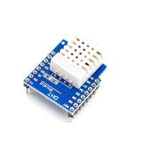 Dht pro escudo para d1 mini dht22 único ônibus digital temperatura e sensor de umidade|Automação predial|   -