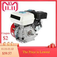 Benzin Motor Luftgekühlten 4 hub motor 6.5HP Pull Start 168F OHV Einzylinder Ersatz Benzin Motor