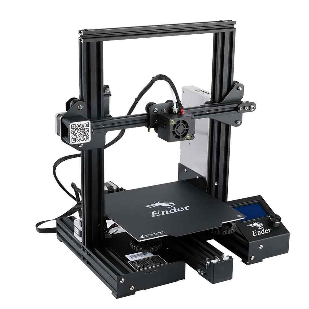 Nouvelle Ender-3 Pro 3D imprimante kit de bricolage créalité 3D mise à niveau caimant construire plaque reprendre panne de courant impression plaque magnétique
