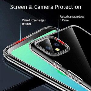 Klar Weichen TPU Fall Für Google Pixel 4 5 3A 3 2 XL Silikon Telefon Abdeckung Für Google Pixel 4 5 4A Pixel4 Pixel3 Pixel2 3A XL Fall