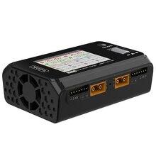 Toolkitrc M6D 500ワット15Aデュアルチャンネル出力rcバッテリーバランス充電器放電器の1 6sリポ推奨電源アダプタ