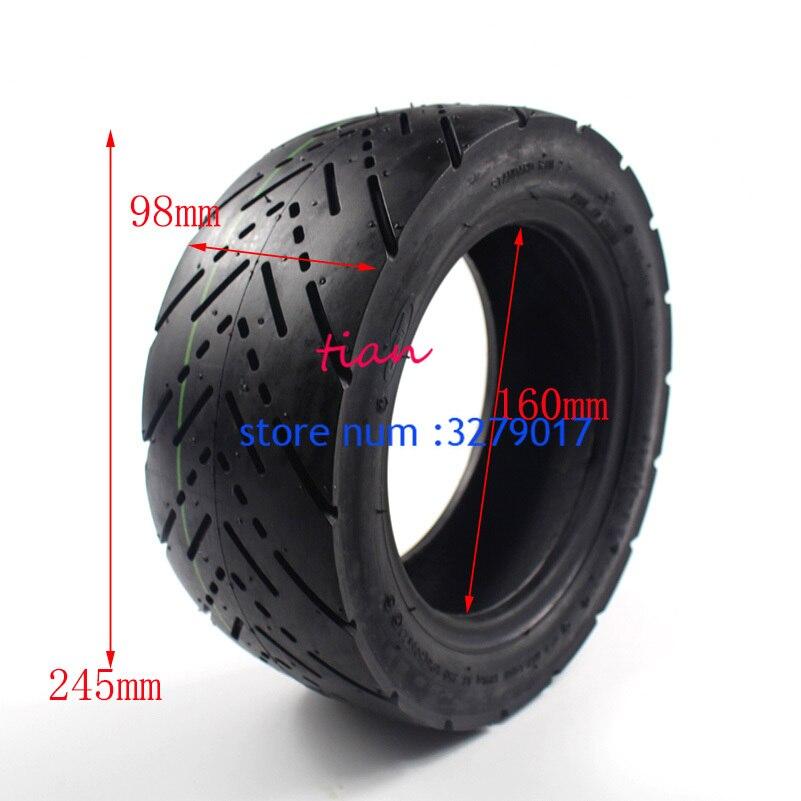 11 дюймов городская дорога бескамерная надувная шина для электрического скутера Speedual Plus Zero 11x Dualtron Thunder 90/65-6,5 без трубки