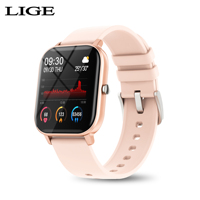 2020 New Fitness tracker Waterproof sport for iPhone smart watch women men Heart rate Sleep monitor call information smartwatch