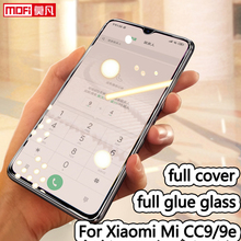 tempered glass for Xiaomi Mi cc9e full cover screen protector premium xiaomi cc9 protective Glass film 2.5D mofi original curved