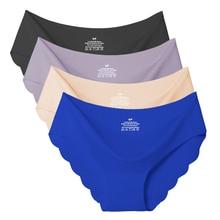 Briefs Panties Lingerie Intimates Underwear Female Seamless Low-Rise Women Sexy Ladies