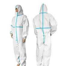 מקצועי סלעית ביגוד מגן אנטיבקטריאלי מגן חליפת כימי מגן אבק הוכחה בגדי בריאות הגנה